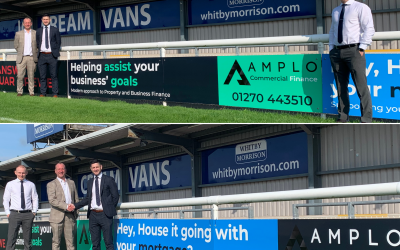 Ex-Players Striking New Sponsorship with Nantwich Town FC