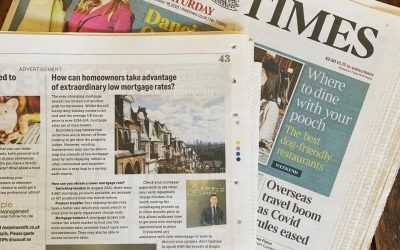 Amplo Mortgages featured in The Times & The Daily Telegraph